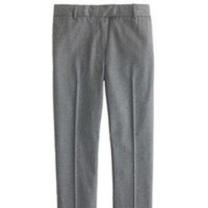 j crew trouser wool Lined dress pants